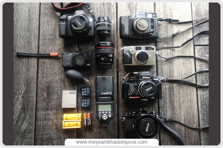 تنظیمات دوربین در عکاسی خیابانی